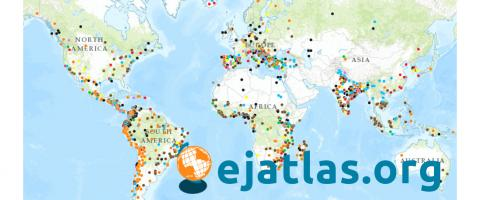 EJAtlas Map Screenshot